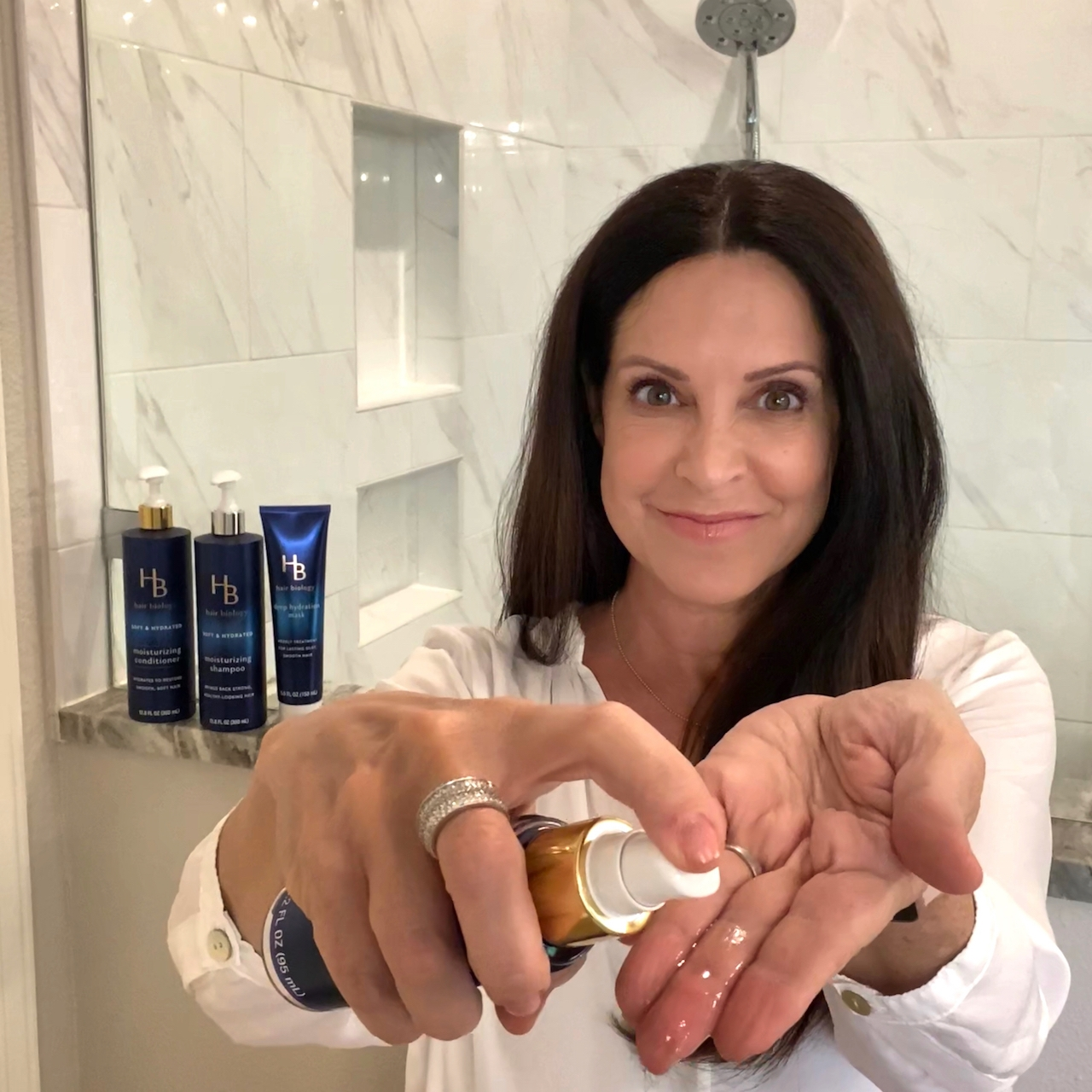 hair smoothing serum