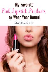 favorite pink lipstick