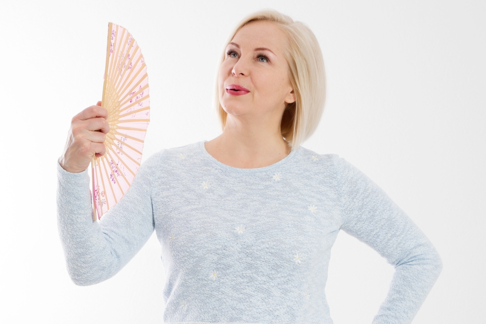 menopause hot flash relief