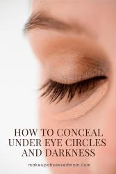 cover dark circles under eyes