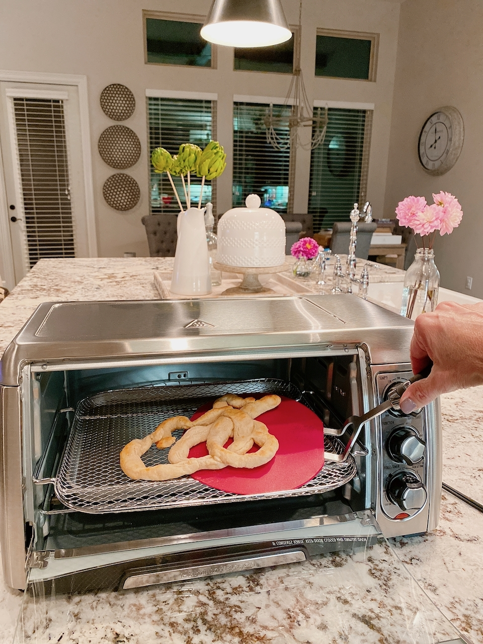 air fryer funnel cake