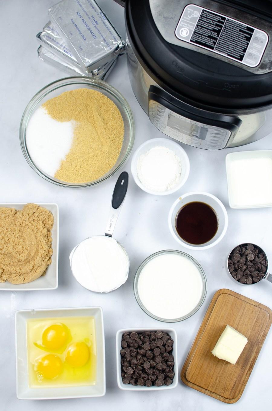 instant pot mini cheesecake bites supplies