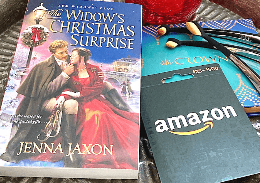 beauty and book Christmas giveaway