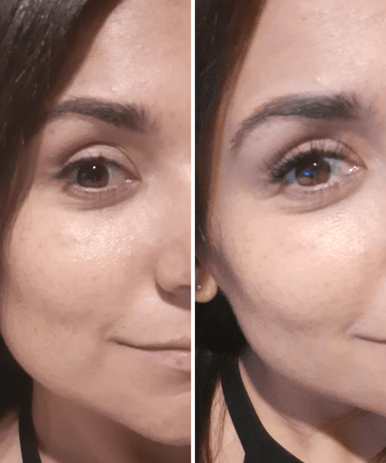 falscara lashes before and after
