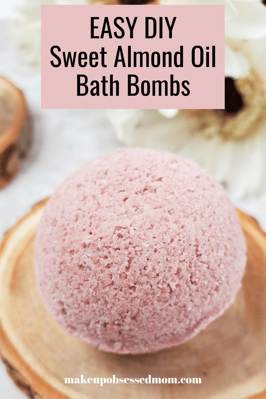 DIY Sweet Almond Oil Bath Bombs