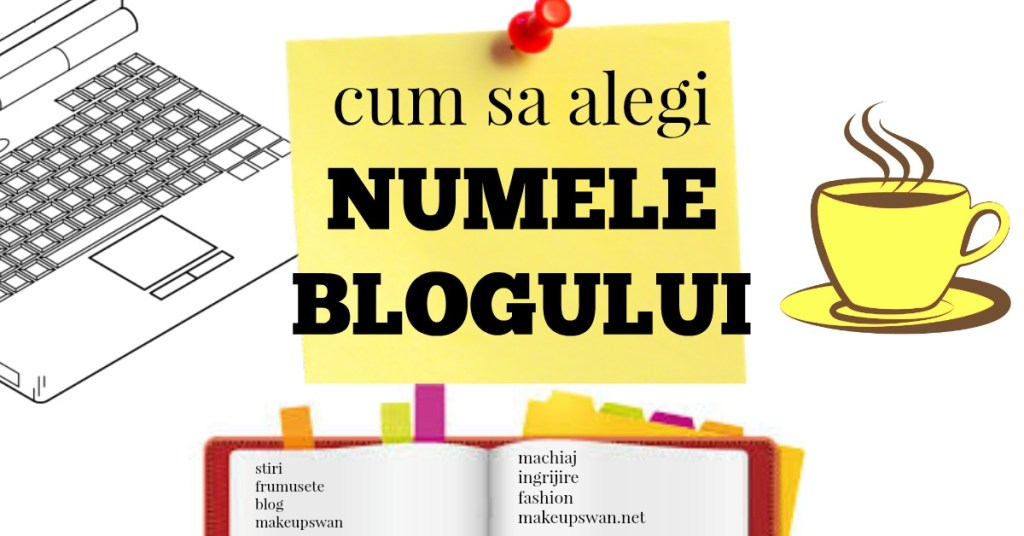 nume blog alegere