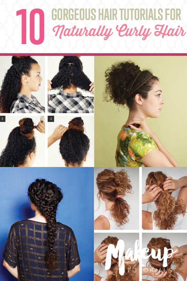 10 easy hairstyle tutorials for naturally curly hair