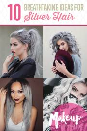 awesome silver hair colors ideas