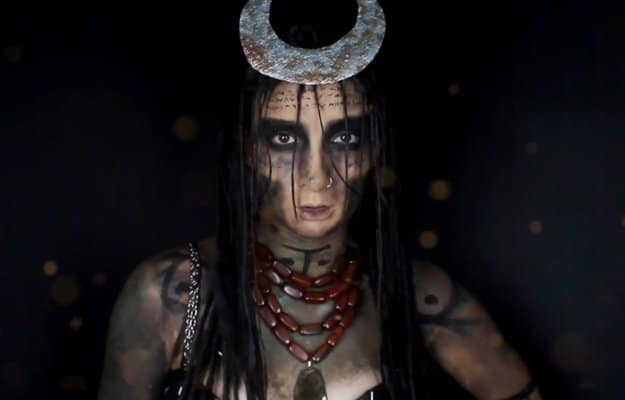 Enchantress (Suicide Squad) | 15 DIY Movie-Inspired Makeup Inspirations for Halloween