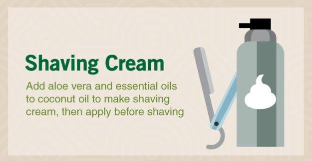 Shaving Cream | Coconut Oil Uses That Will Transform Your Regimen