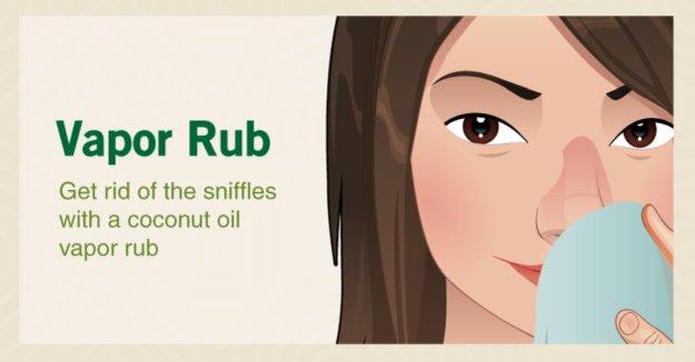 Vapor Rub | Coconut Oil Uses That Will Transform Your Regimen