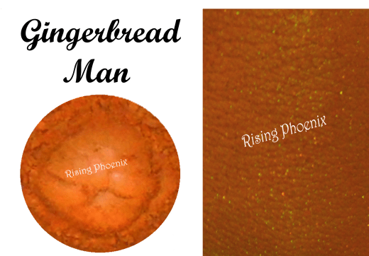 gingerbread man swatch