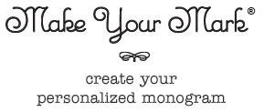 monogram maker mark and