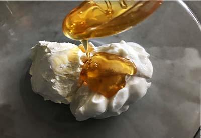 honey vanilla fruit dip