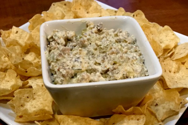 cream cheese sausage dip