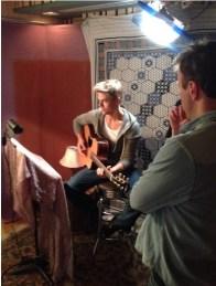 Derek Hough filming 'Let Me In' music video #20