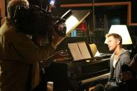 Derek Hough filming 'Let Me In' Music Video for the OST