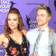 Derek Hough with his DWTS partner Amy Purdy