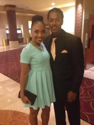 Tiffany Daniels and Wesley Jonathan