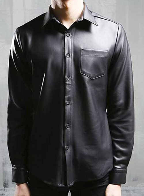 Classic Leather Shirt  MakeYourOwnJeans Made To Measure Custom Jeans For Men  Women