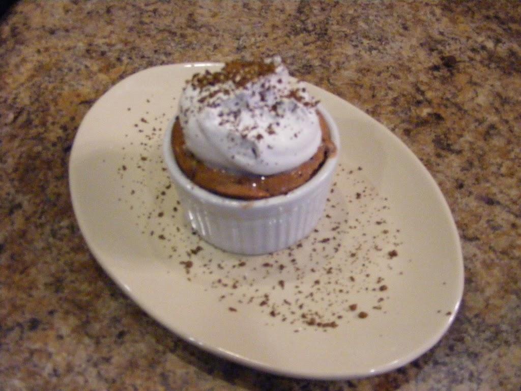 Individual Chocolate Souffles