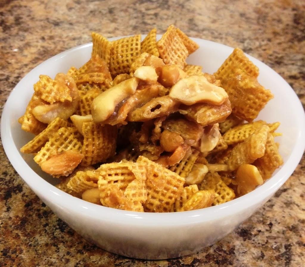 Caramel Cashew Chex