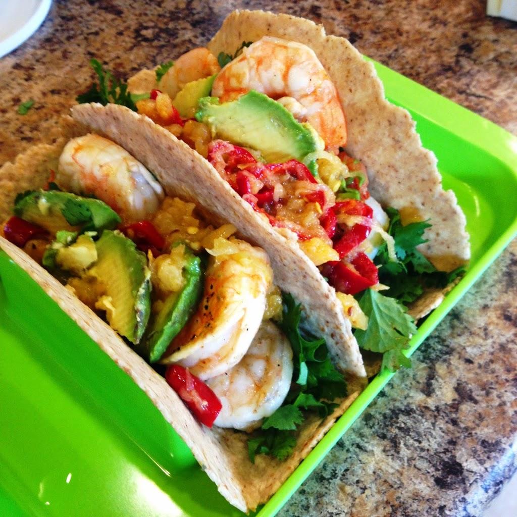 Soft Shell Shrimp Tacos