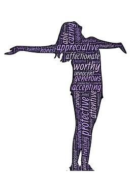 affirmation woman-1195270__340
