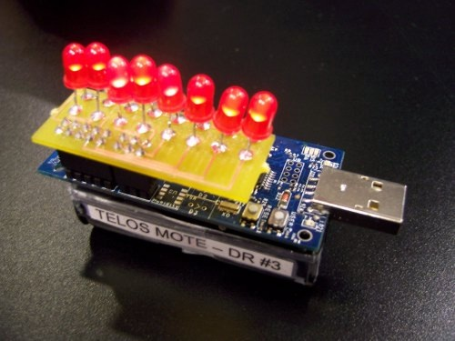 Wirelessly updatable POV…
