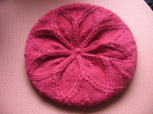Cabled Rangoli Hat Pattern