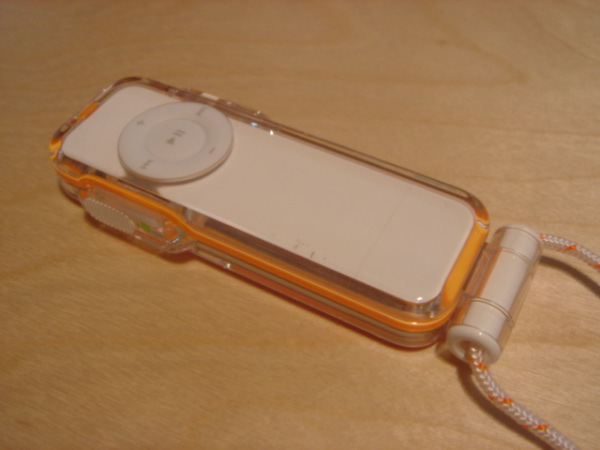 iPod Shuffle waterproof case