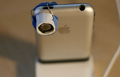 Macro-Lens iPhone hardware mod