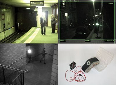 Temporarily blind surveillance cameras