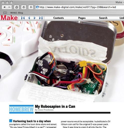 Public beta: Subscribe to a print magazine (MAKE) via RSS