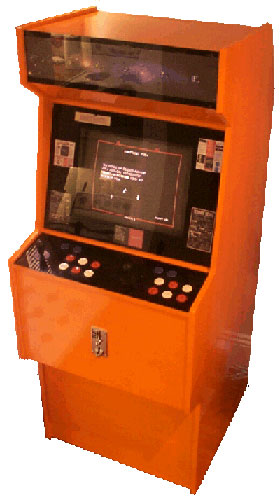 Create and old-school arcade machine