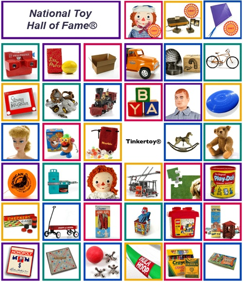 National Toy Hall of Fame – Old LEGO, Erectors and more…