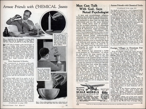 Amuse Friends with chemical stunts