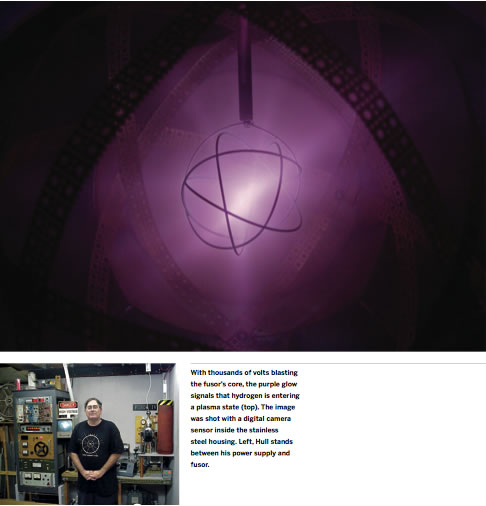 Maker of the day – Richard Hull, Homemade nuclear fusor