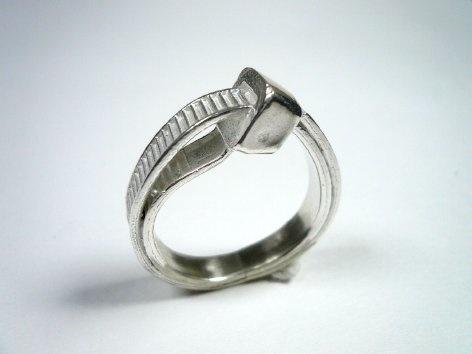 Zip tie ring