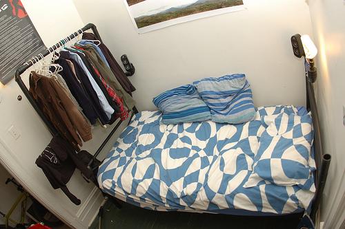 """""""PlumbingPunk"""" bed and closet"""