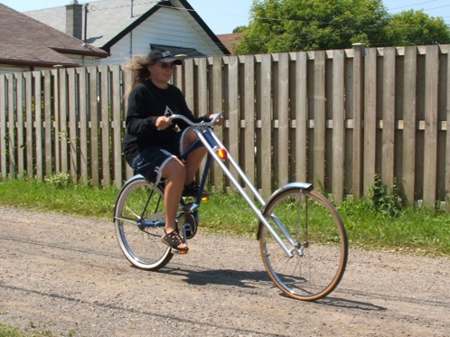Granny's Nightmare – HOW TO – Make a bicycle chopper
