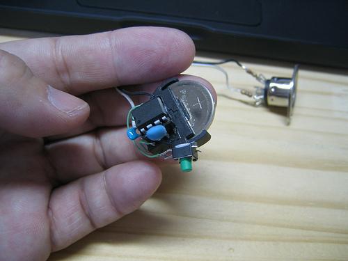 Very small midi controller