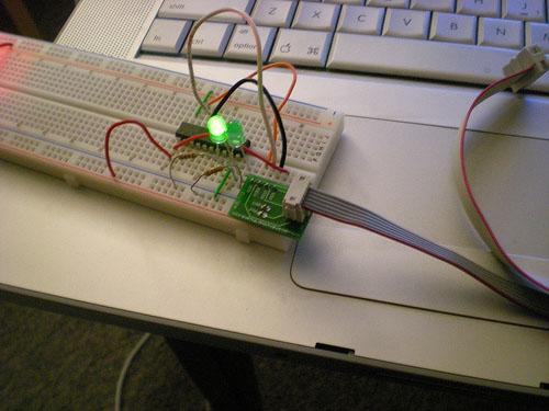 AVR ICSP breadboard adapter