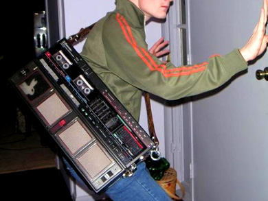 BoomBox cellphone makes portability an afterthought