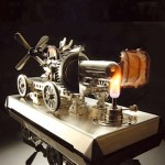 Stirling engine kit – from Japan, now @ MAKE