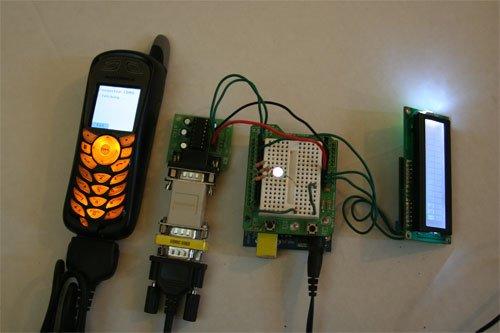 Arduino + Mobile.Processing