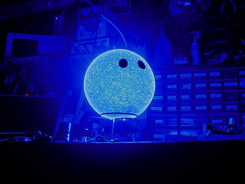 LED sphere lamp