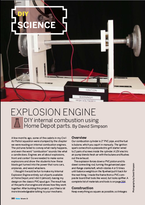 Weekend Project: Explosion Engine (PDF)