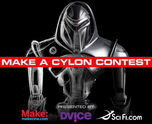 """Battlestar Galactica contest – DVICE, SCIFI.COM, MAKE present the """"Make a Cylon"""" contest – Cylons Tricia Helfer (Number Six) and Grace Park (Boomer) will judge!"""