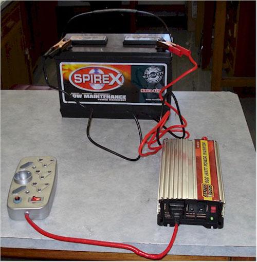 DIY Battery backup